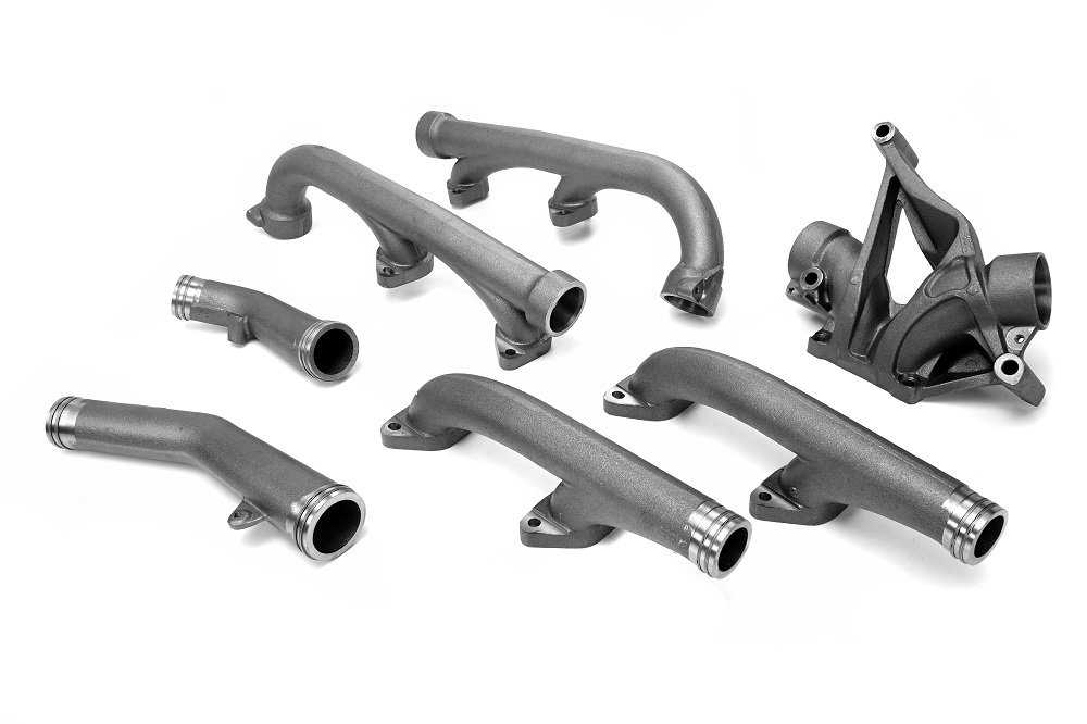 EXHAUST MANIFOLD KIT WITH RINGS